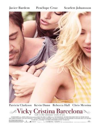 Poster Of Vicky Cristina Barcelona 2008 English 300MB BRRip 480p ESubs Watch Online Free Download Worldfree4u