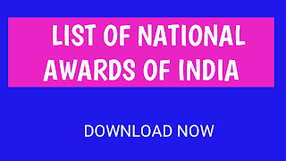 list of national awards and honours in india