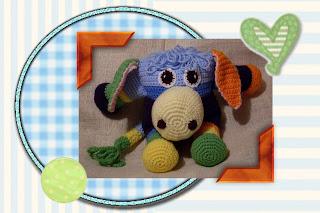 crochet amigurumi donkey toy pattern