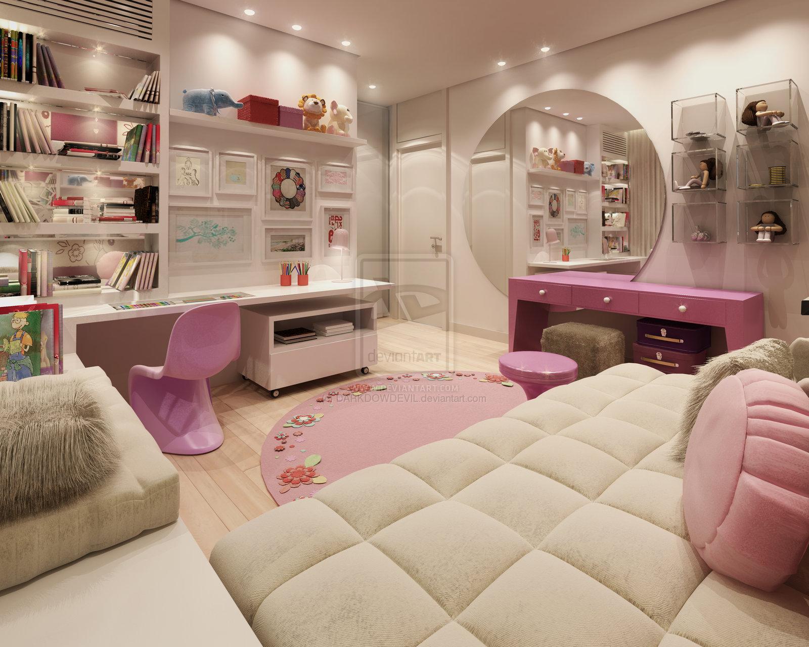 desain interior kamar tidur remaja sederhana | interior rumah