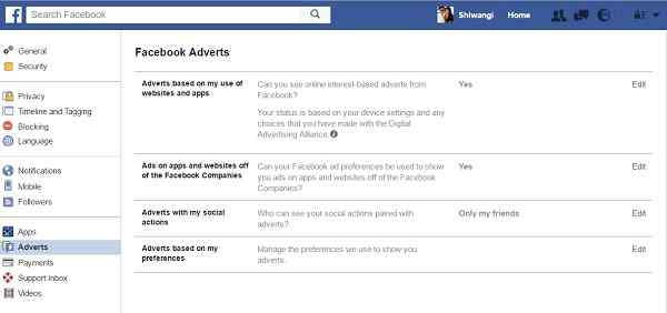 Deactivate Your Advertising Account on Facebook