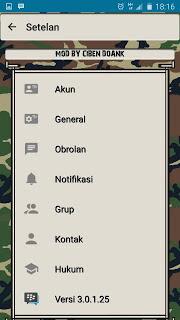 BBM MOD Army Base 3.0.1.25 Apk Update Terbaru