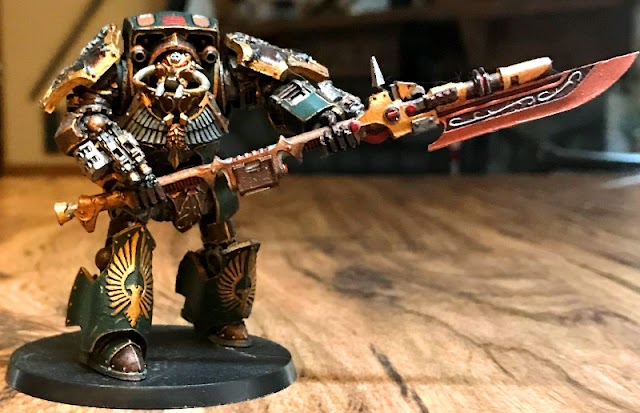 What's On Your Table: Renegade Warband Walkers & Kharn.