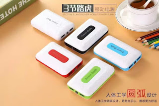 2usb power bank portatile