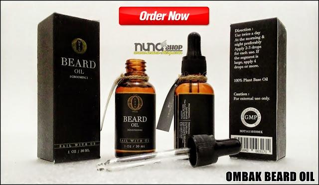 Ombak Beard Oil Minyak Penumbuh Jenggot dan Kumis Ampuh