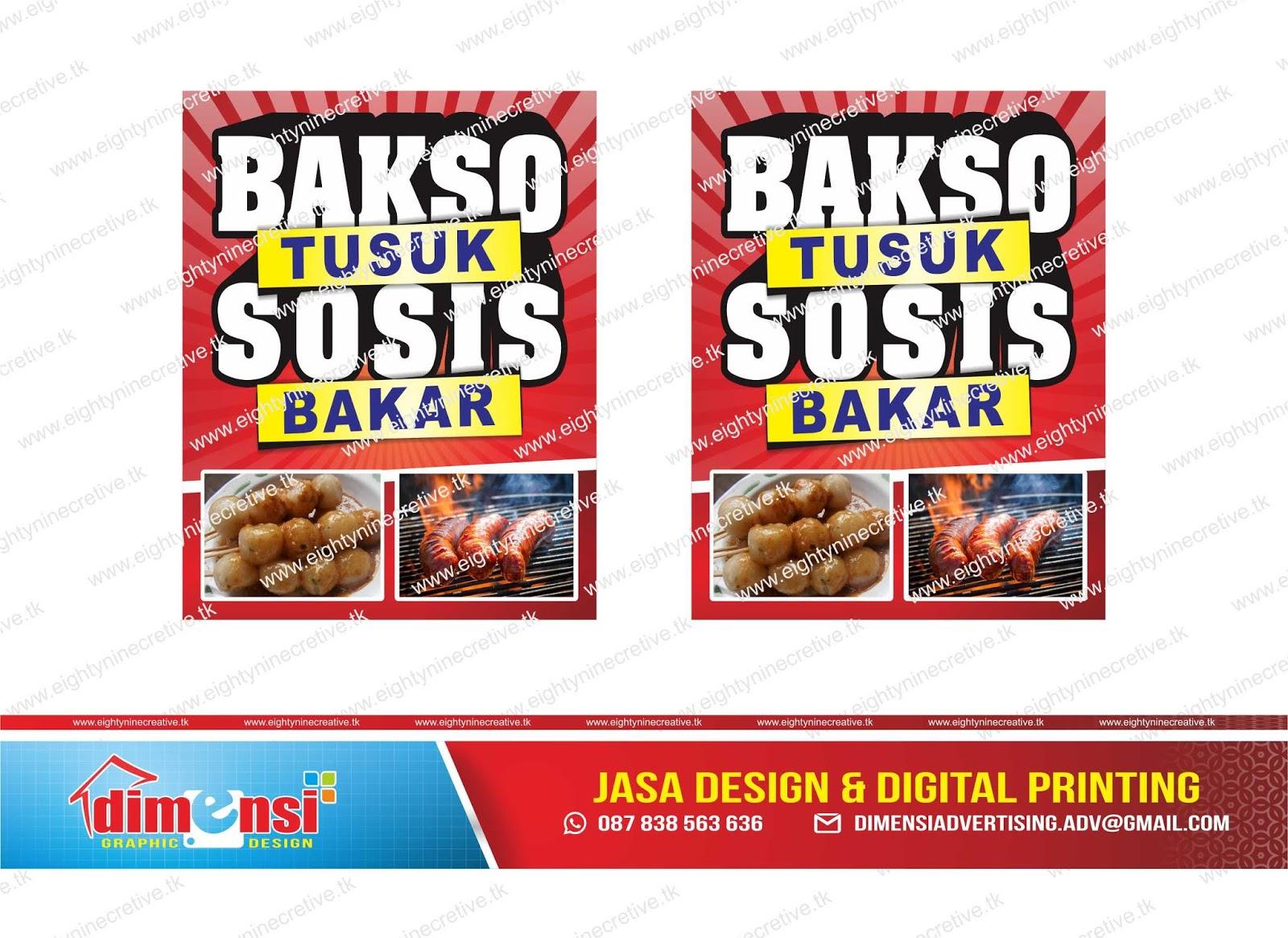 Download Spanduk Bakso Tusuk dan Sosis Bakar Vector CDR ...