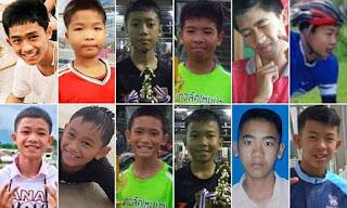 Ταϊλάνδη: Οι πρώτες εικόνες των 12 παιδιών μέσα από το νοσοκομείο