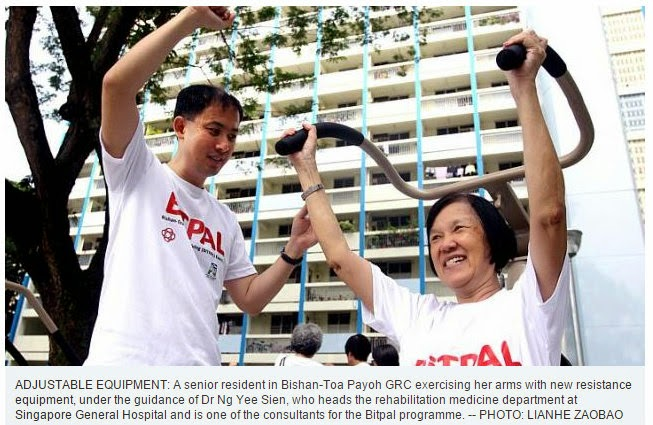 If Only Singaporeans Stopped to Think: Free fitness programme for