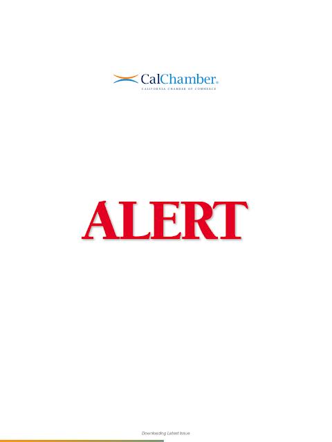 CalChamber Alert mobile app