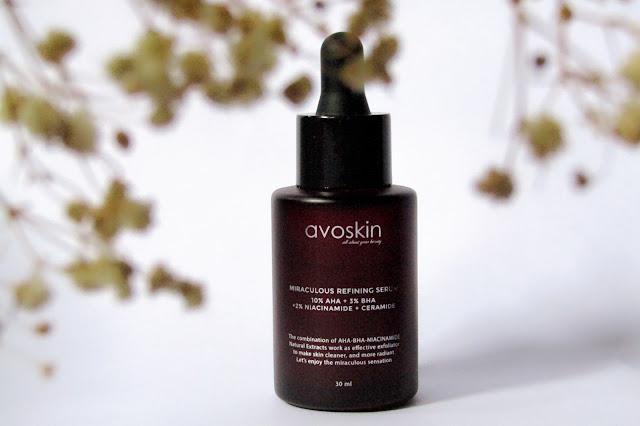 Avoskin Miraculous Refining Serum - Review Setelah 4 Minggu Pemakaian