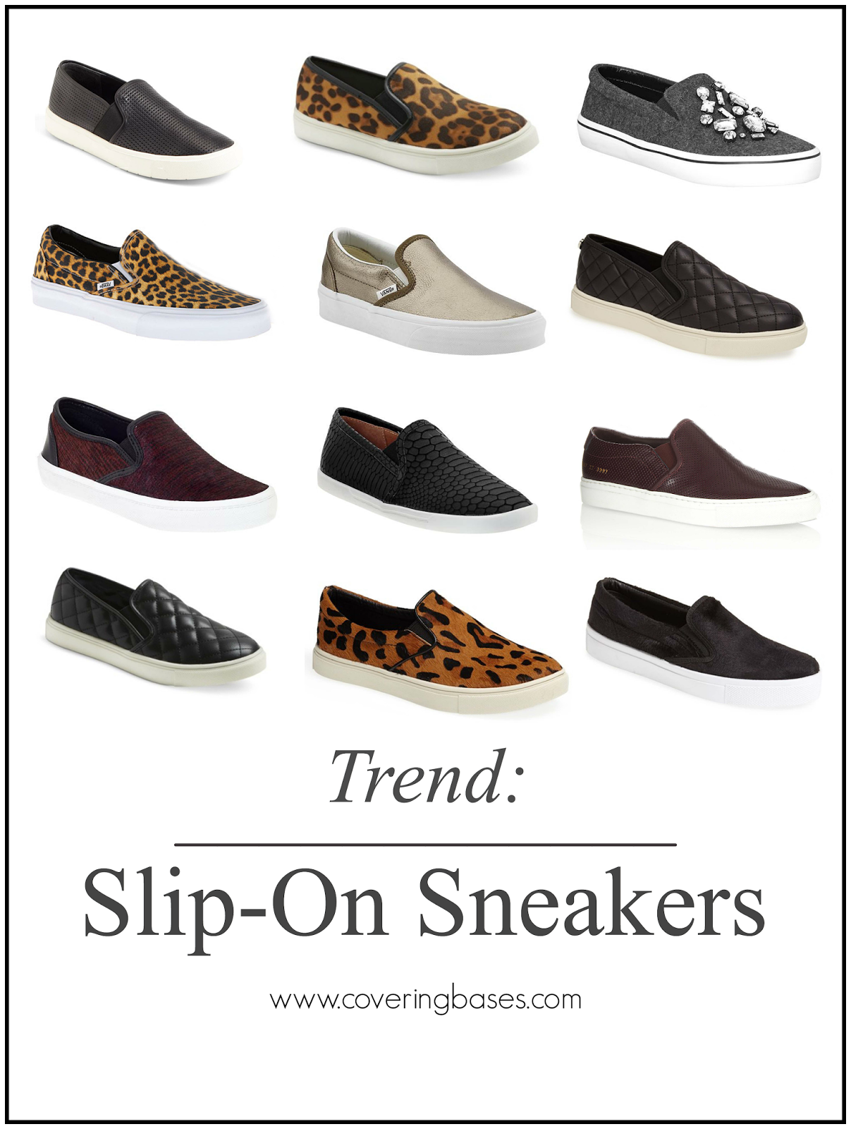 Fashion Trends, Slip On Sneakers