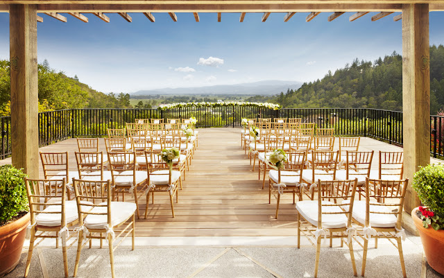 Wedding Venues With Lodging auberge du soleil restaurant