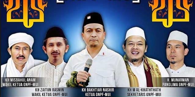 Entah kenapa,Ternyata Sudah 2 Kali Nama GNPF-MUI Dicoret Oleh Panitia Saat Jokowi Undang Ulama