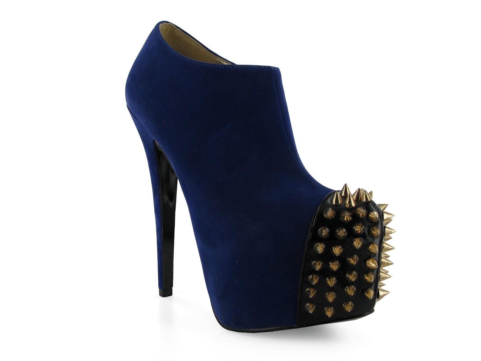 Royal Blue Suede Shoe Dye
