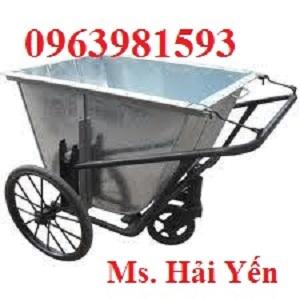 Bán các loại xe gom rác, xe gom rác tôn giá rẻ, xe chở rác tôn 500 lít