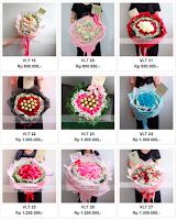 madame florist, handbouquet bunga valentine, jual handbouquet,