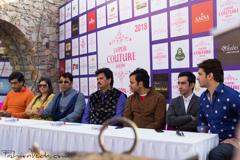 First Look  Launch of Jaipur Couture Show-Season 5