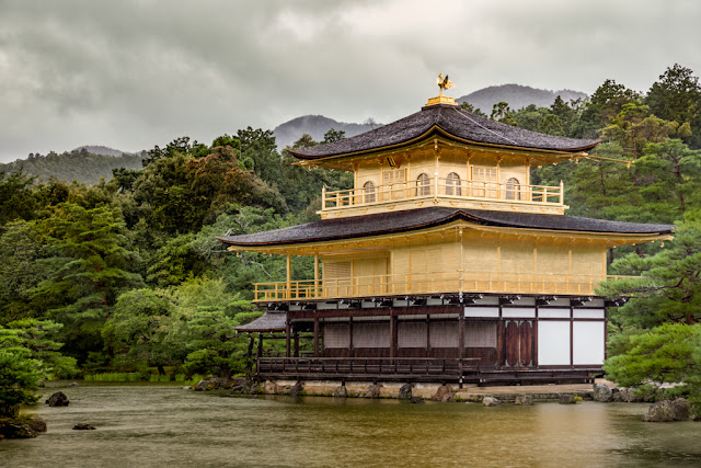 Kinkaku-ji en el Kyōko-chi :: Canon EOS5D MkIII | ISO400 | Canon 24-105@73mm | f/5.0 | 1/80s