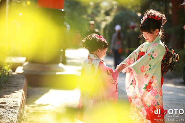 宇治上神社での七五三出張撮影