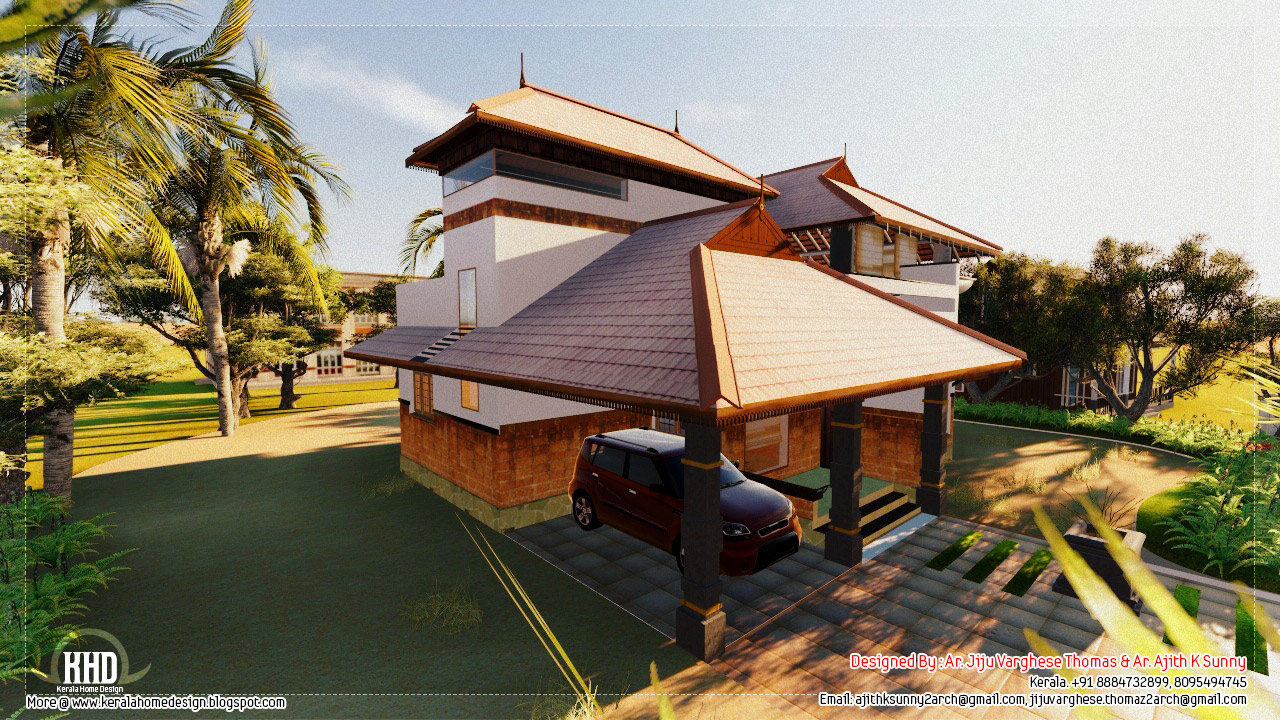 Kerala Home Design And Floor Plans 1500