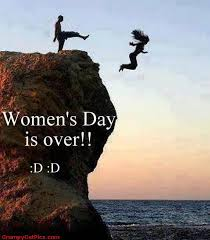 laughing meme for womens day