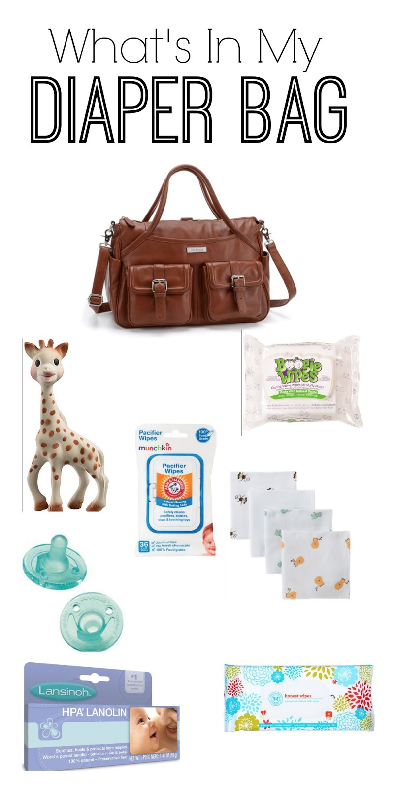 Rose & Co Blog: What's in my Diaper Bag