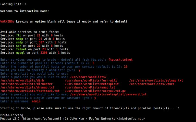 BruteSpray: To Bruteforce from Nmap Outputs - The World of