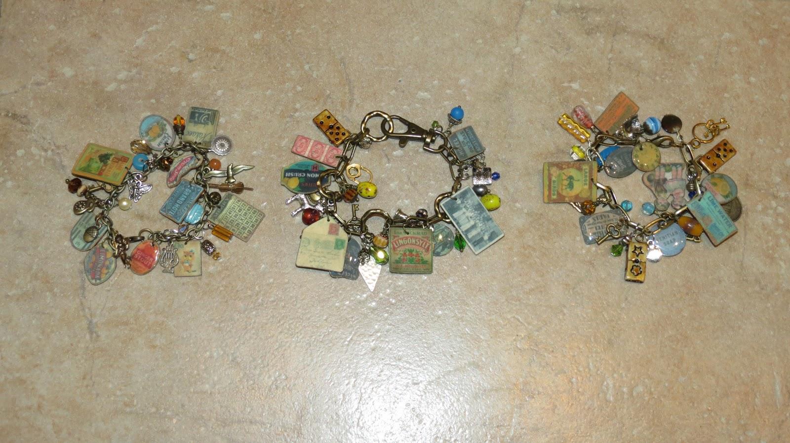 Vic S Creations Charm Bracelets Using Shrink Plastic