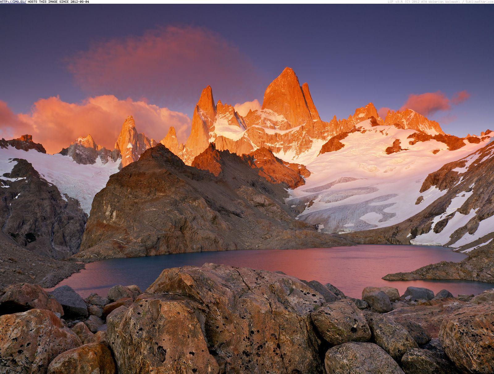 Parque Nacional Los Glaciares National Park, Argentine ...
