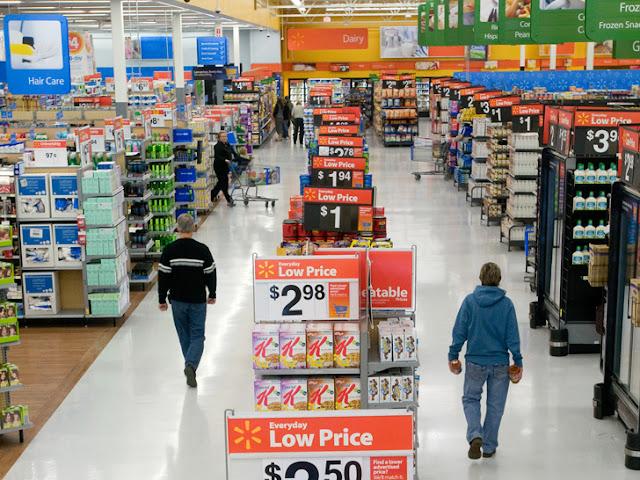 Supermercados - Movimentação em outubro