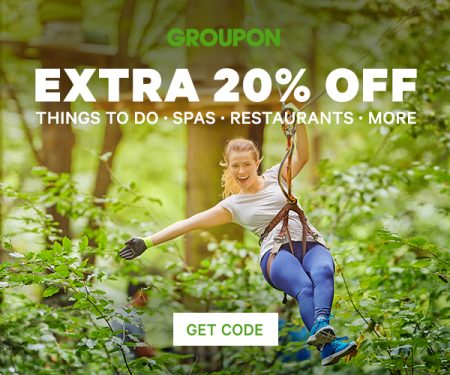 Groupon 20% Off Local Deal Promo Code