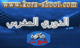 مشاهدة مباريات الدوري المغربي اليوم Moroccan-League