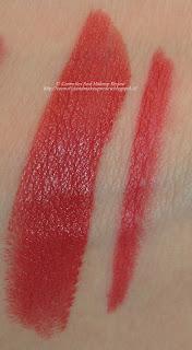 PuroBIO swatches lipstick 07 + lip liner 40