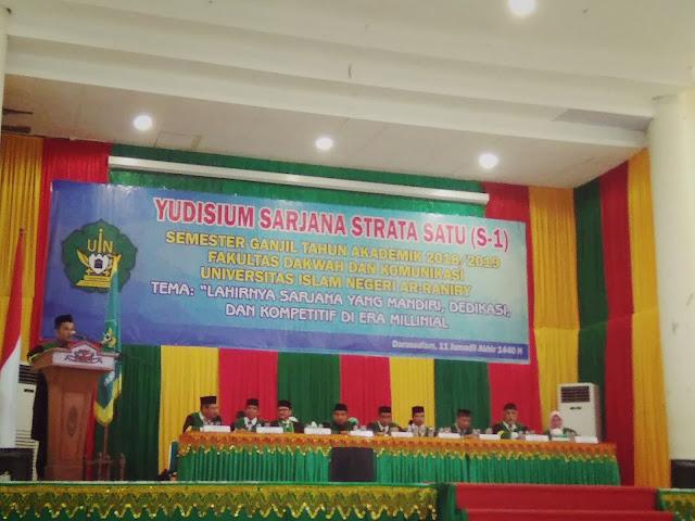 Fakultas Dakwah Yudisium 277 Mahasiswa