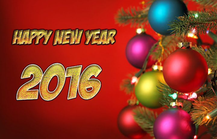 Christmas Balls New Year 2016 Images