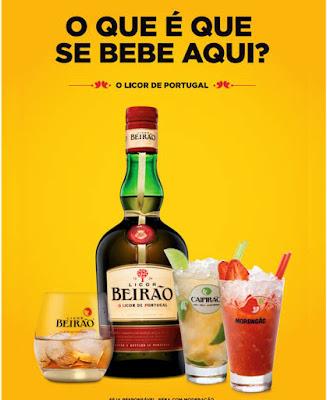 cartaz das bebidas beirão