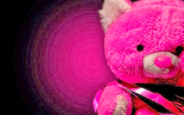 Bunny Cute Pink Teddy Bear Hd Wallpapers For Desktop: Wallpaper Autumn: Pink Teddy Bear HD Wallpapers Free Download