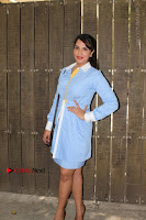 Richa Chadda Latest Pos in Blue Short Dress at the Screening Of Short Film Khoon Aali Chithi  0024.jpg