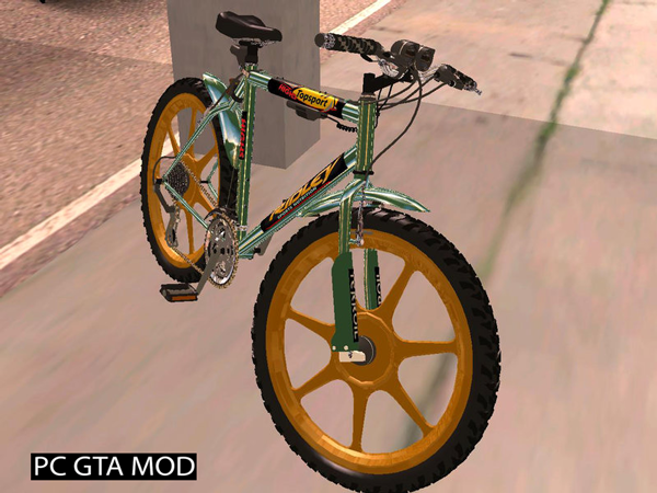 Free Download Mtbike HD V2 Mod for GTA San Andreas.