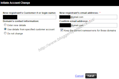 How To Transfer a Domain Name Between 2 GoDaddy Accounts | Blogger