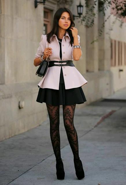 Outfits en tono pastel