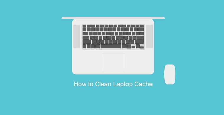 Menghapus cache laptop