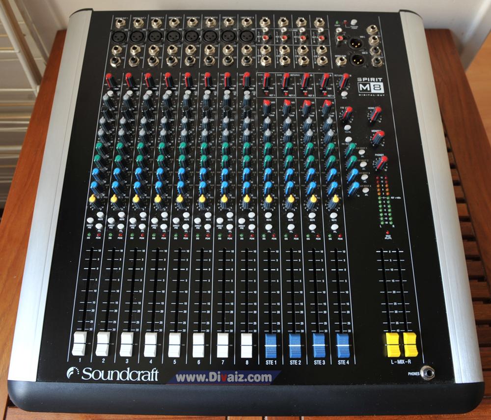 Mixer_Soundcraft_Spirit_M8 - www.divaizz.com