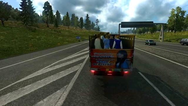 Mod Traffic Modus v3 Ets2 By Endro Saputra