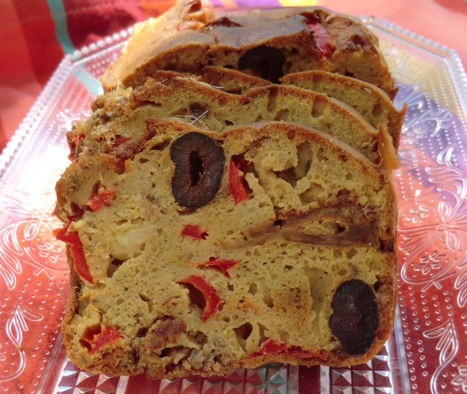 Cake Sal Ef Bf Bd Farine Sarrasin Olive