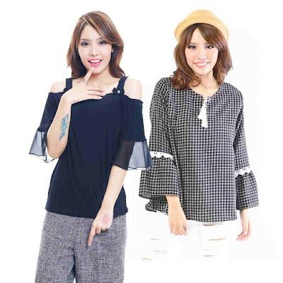 Pakaian Atasan Sebagai Item Fashion Penting Wanita