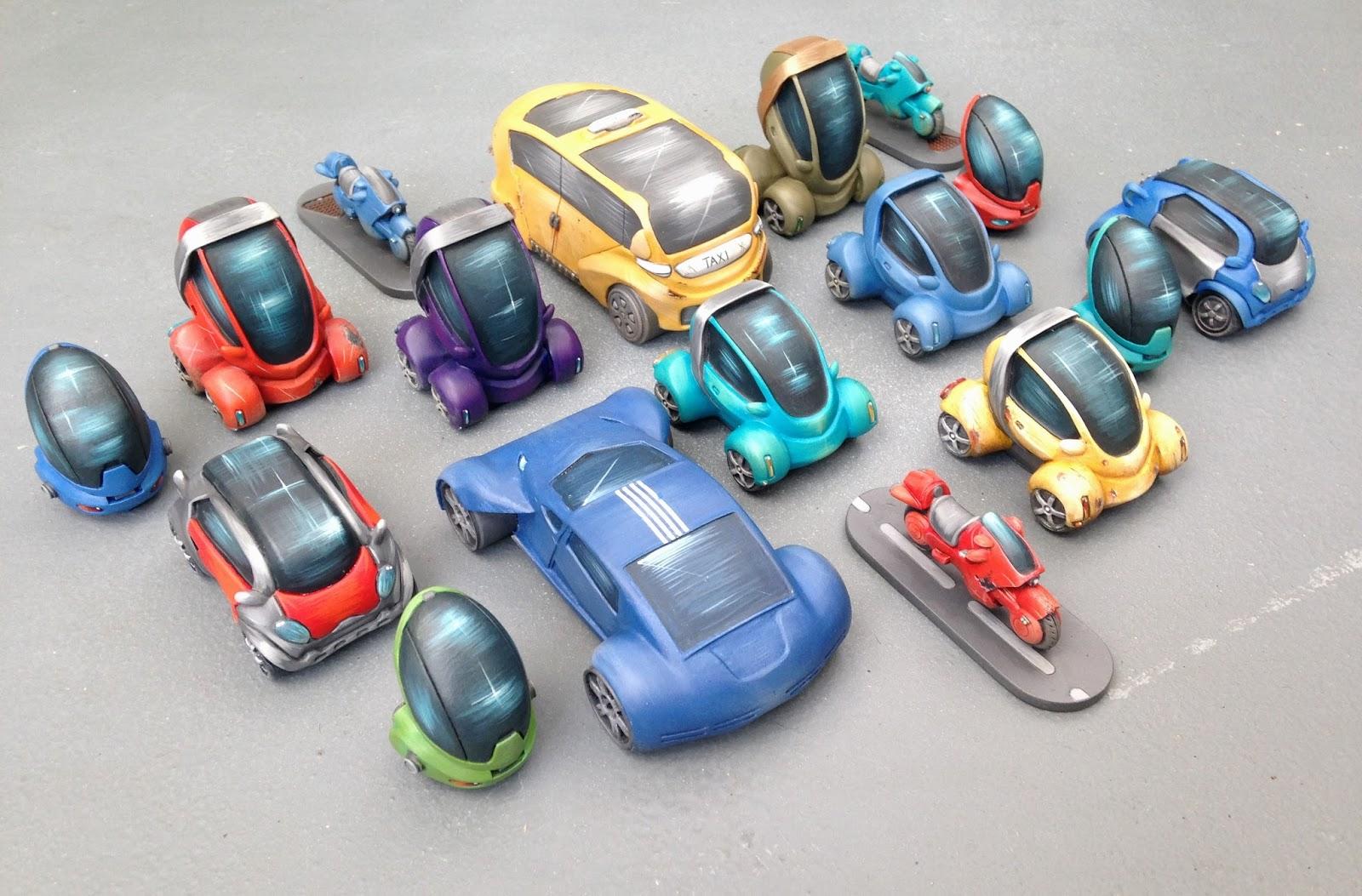 full spectrum dominance: infinity terrain - city cars