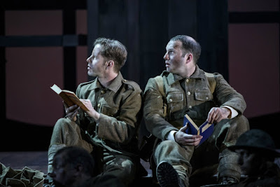 Andrew Bidlack, Marcus Farnsworth - In Parenthesis - WNO - Photo Bill Cooper