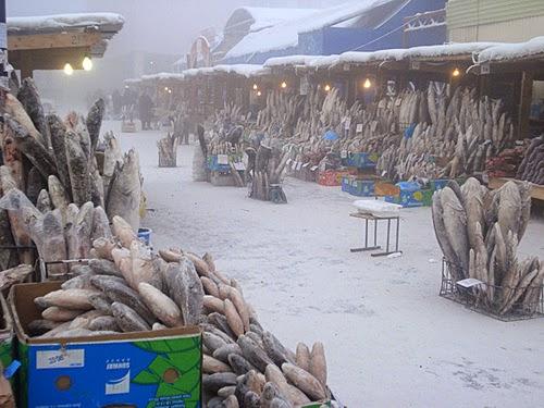 Yakutsk a cidade mais fria do mundo