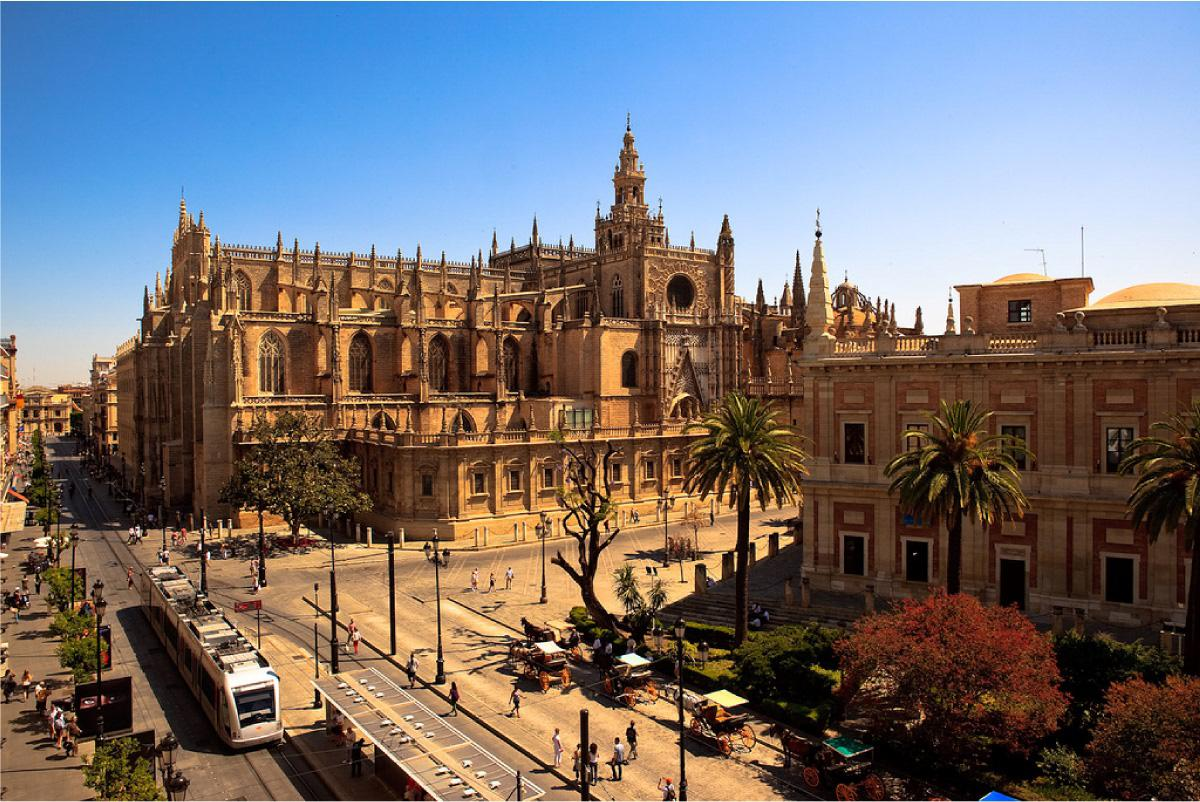 Arch161 Seville Cathedral Sevilla Spain 1528